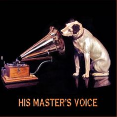On this day 31st May, 1889 A painting of a small dog (Nipper) listening to a phonograph was shown to the general manager of The Gramophone Company. It was a painting by Francis Barraud. The phonograph was painted out and a gramophone substituted. It became the famous trademark for the company 'His Master's Voice'