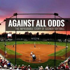 Greatness is rarely realized in a single moment. Perhaps no program knows this better than OU Softball, which went from sharing a field w/ the local slow pitch league, to this year's national title CHAMPIONS!! #OU #Sooners #BoomerSooner