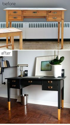 Metal and wood furniture projects Ideas Ana White Furniture, Retro Furniture, Refurbished Furniture, Repurposed Furniture, Furniture Projects, Furniture Plans, Furniture Making, Furniture Makeover, Painted Furniture