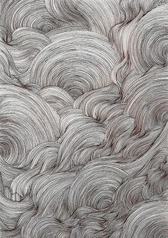 vjeranski | ysabelledurant: ink line drawing
