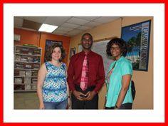 L'adm/Comptable de @haiti_tec M.@ancelyalexis a reçu  ce matin,la visite d'une délégation de la fondation @Sharehope. pic.twitter.com/u4cfAVEYKv