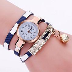 PU Leather Bracelet Casual Luxury Brand Quartz Watches