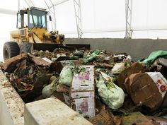 How Colorado Is Turning Food Waste Into Electricity - April 5, 2016 - At the Heartland Biogas Project, millions of tons of food waste are collected and converted into usable methane gas.