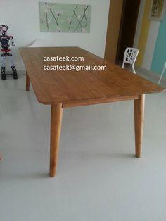 Teak Wood Modern Design Dining Table Kl Https://www.casateak.com