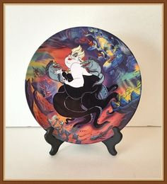 Disney Ursula Collectors Plate Third Issue by bettysworld4u