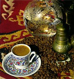 I've just learned the art of Turkish Coffee making.  I will posting an article all about Turkish Coffee very soon.