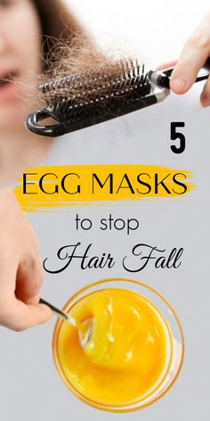 5 Egg Masks That Can Help You Prevent Hair Loss - Hair Loss Treatment Biotin For Hair Loss, Oil For Hair Loss, Hair Loss Shampoo, Stop Hair Loss, Prevent Hair Loss, Biotin Hair, Egg Hair Mask, Egg For Hair, Hair Masks