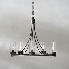 Agave 5-Light Candle-Style Chandelier