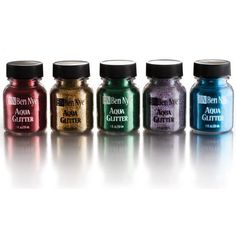Ben Nye Aqua Glitter Paint, 1 fl. oz | Professional Quality Body Paint | MakeupMedley.com