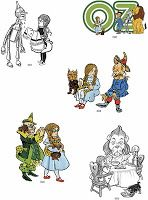 my chaos stems from my inability to sit still: Free clip art of W. Denslow's The Wizard of Oz original illustrations Original Wizard Of Oz, Fables Comic, Copyright Free Images, Dover Publications, Fantasy Illustration, Over The Rainbow, Cool Art, Fun Art, Illustrators