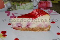 Reteta de cheese cake de zmeura