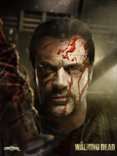 Earlier this week AMC confirmed that Jeffrey Dean Morgan had been cast as Negan in The Walking Dead -- now check out how he might look! Walking Dead Season 6, Fear The Walking Dead, Jeffrey Dean Morgan, Melissa Benoist, Supergirl, Rihanna, Marvel, Stuff And Thangs, Comic Book Covers
