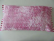 Designers Guild Velvet  Perreau Fuchsia Cushion Cover with trim franchini