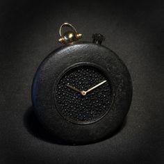 Angular Momentum & Manu Propria Tetsu Iron Pocket Watch