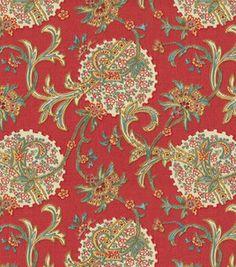 Home Decor Print Fabric- Waverly Faith/Americana & home decor fabric at Joann.com  Possible chair or pillow material.