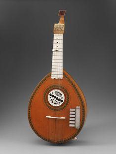 Keyed cittern (English guitar) | Museum of Fine Arts, Boston