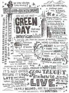 Green day --MY FAVORITE BAND EVER