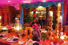 arabian nights kids party | Arabian Nights theme party decor | Moroccan Themed Berber Events's ...