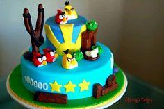 MuyAmeno.com: Tortas de Angry Birds para Fiestas Infantiles