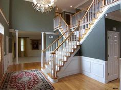 You will be sure to make an entrance walking down this staircase located in York, PA. http://www.homesale.com