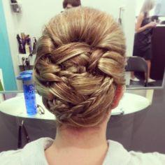 Classic Wedding Hairstyles www.hairdesigners.ca Classic Wedding Hair, Wedding Photos, Wedding Ideas, Something Beautiful, Hair Designs, Wedding Hairstyles, Designers, Long Hair Styles, Bride
