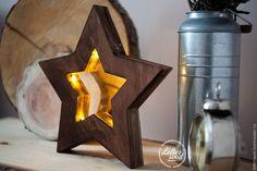 """Купить Светильник-ночник """"Звезда Loft"""" - бежевый, love, светильник, светильник ручной работы"""