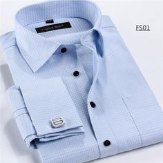 New Men's Shirt Long Sleeve Casual Male Brand Shirts Slim Fit