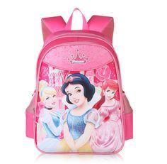 df41617e498a Children School Bags Mochila Infantil Princess Minnie Mickey Mouse Cartoon  Satchel Boys Girls Fabric Backpack Bookbag Rucksack