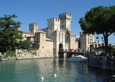 Sirmione by Lake Grada, Italy