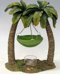 Palm Tree Window Sheers Decor Is The