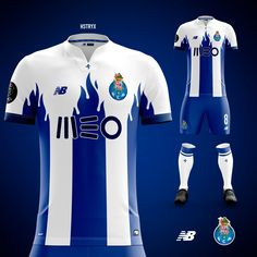 Want To Improve Your Soccer Skills? Football Uniforms, Football Jerseys, Fc Porto Logo, Rugby Jersey Design, Football Team Kits, Sport Shirt Design, Bodybuilding Clothing, Soccer Skills, Custom T Shirt Printing