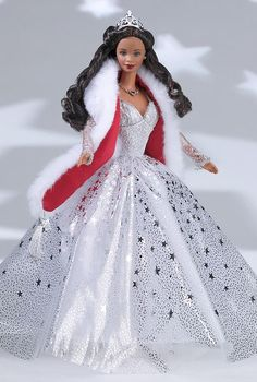 Holiday Celebration Barbie. Special Edition. Release date: 9/1/2001