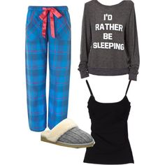 """Pajama Day!!!!"" by ripley123 on Polyvore"