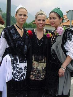 Galería de fotos A Pontenova, Folklore, Costumes, Regional, Spain, Natural, Fashion, Vestidos, Shandy