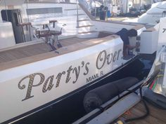 Our editors see a lot of boat names throughout their travels.  Here is a list of the best names so far.