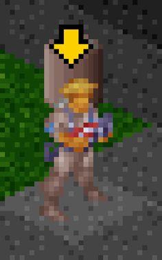X-com soldier sprite with laser