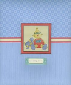 Amazon.com: C.R. Gibson Loose-Leaf Memory Book, Baby Bots: Baby
