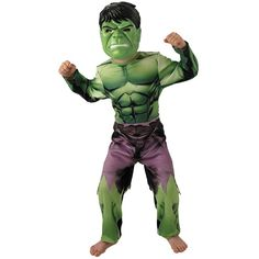 The Hulk Classic Kids Costume - Boys Halloween Fancy Dress Official Marvel Comic Superhero Fancy Dress, Childrens Fancy Dress, Boys Fancy Dress, Halloween Fancy Dress, Costume Halloween, Retro Costume, Super Hero Costumes, Halloween, Party