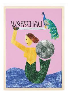 Human Empire Artist Series Warschau Poster