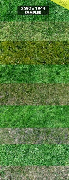 9 Grass Texture Pack - GraphicRiver Item for Sale