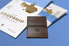 The Goodship Co. by Mint. #branding #packaging
