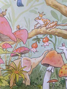 Illustratie van Anita Jeram uit 'Mijn lievelingsboek'