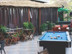 Restaurant review- Hinglish: The colonial cafe. This is the outside sitting