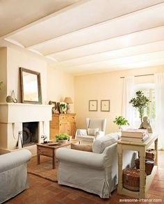 The living-room in style of Provence