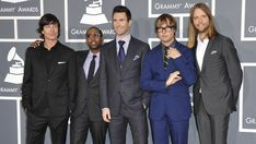 Grammys: Maroon 5 - Adam Levine just really looks good