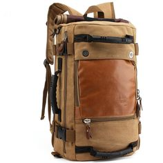 Canvas Laptop Backpack Travel Hiking Camping Rucksack Bag. Only $49.99 with free shipping worldwide. https://www.focuseak.com/products/canvas-laptop-backpack-travel-hiking-camping-rucksack-bag?variant=17951589381