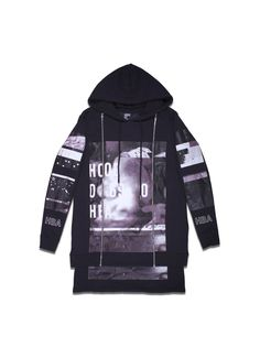 Hood By Air Ultra Sound Double Layer Hoodie w/ 2 Zippers (Black)