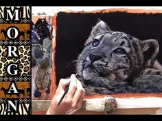 Glazing Painting Video - How to Paint Fur / Hair Tutorial - Jason Morgan - YouTube