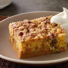 Mother's Pumpkin Pie Cake