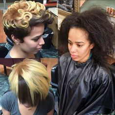 Natural Hair Cuts, Natural Hair Styles, Short Hair Cuts, Short Hair Styles, Pictures Of Short Haircuts, Hype Hair, Relaxed Hair, Great Hair, Cool Hairstyles